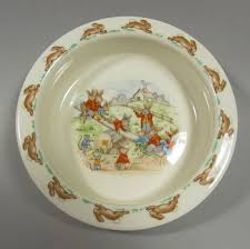 is there a bunnykins dish list antiques board