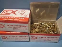 Parchment Paper Office Depot New 300 Rex Paper Fasteners 2 Office Classroom Steel Brass
