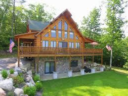 Luxury Cottage Rental by Luxury Log Cabin Best Views Of Mt Washington U0026 Chocorua Close
