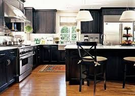 kitchens with black cabinets gothic black kitchen cabinets u2013 the