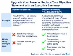 Examples Of Summaries On Resumes by The Most Important Thing On Your Resume The Executive Summary
