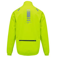 reflective bike jacket mens cycling jacket windproof splashproof thermal high visibility