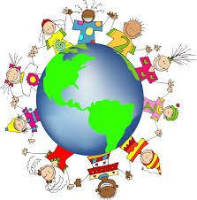 Kids World Map Kids World Hands Friends Networks Globe Illustration Small Free