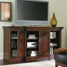 louis philippe tall media cabinet by bassett furniture features