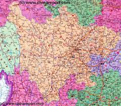 Map Of China Provinces Sichuan Province China Overview Map 1 By Chinareport Com