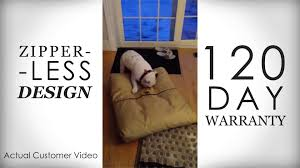 chew proof dog bed customer videos youtube