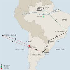 South America River Map by Central U0026 South America Tours Globus Escorted Travel