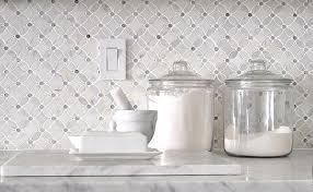 Marble Mosaic Tile Backsplash Backsplashcom - Carrara tile backsplash
