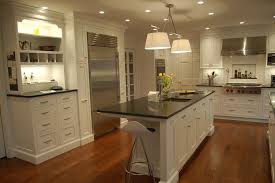 Painting Thermofoil Kitchen Cabinets Kitchens With Marble Countertops White Cabinets Stunning Home Design