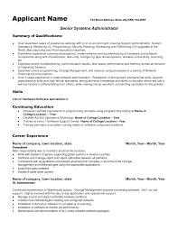 sample resume templates sensational design administrative manager resume 7 administration altiris administrator sample resume word checklist templates 12751650 active directory administrator resume sample system administrator altiris