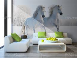 28 wall murals posters wall murals tropical canvas prints wall murals posters wall murals amp posters white horse on the snow mca1046en