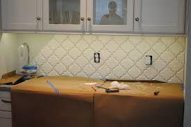 How To Put Backsplash In Kitchen How To Install Beveled Arabesque Tile Karen Viscito Interiors