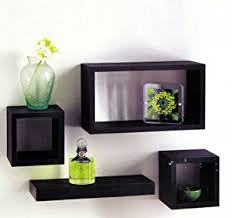 Floating Box Shelves by Wooden Wall Shelves Alternating Lack Square Floating Corner Wall