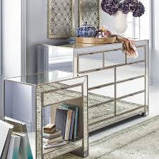 Pier 1 Bedroom Furniture by Alexa Mirrored Nightstand U0026 Dresser Bedroom Set Pier 1 Imports