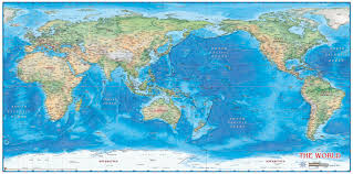 Peters Projection World Map by Charting New Mental Maps University Of Northern Iowa