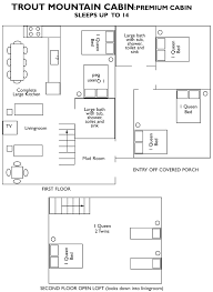 Small Cabin Floor Plans Free Cabin Rentals In Maine Trout Mountain Cabin