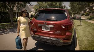 nissan pathfinder rear bumper 2018 nissan pathfinder rear door alert youtube