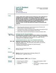 new graduate registered nurse resume sample ersumnet new graduate     soymujer co