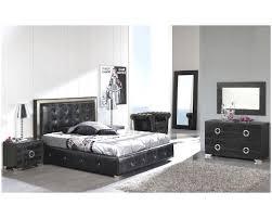 Modern Leather Bedroom Furniture Bedroom Black And Red Bedroom Sets Bed Room Set King Size Black