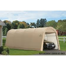 Replacement Canopy Covers by Replacement Cover Kit For The Autoshelter Roundtop 10 X 20 X 8 Ft