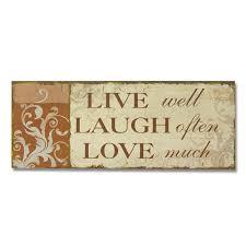 amazon com adeco sp0155 decorative wood wall hanging sign