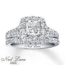 neil lane engagement rings kayoutlet neil lane bridal set 2 1 2 ct tw diamonds 14k white gold