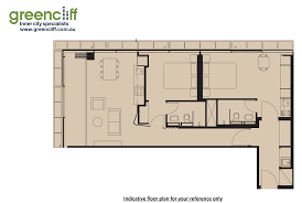 Central Park Floor Plan by Greencliff Dual Key Apartment Available In Central Park