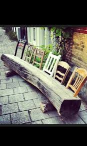 Diy Reclaimed Wood Storage Bench by Best 25 Chair Bench Ideas On Pinterest Unusual Furniture