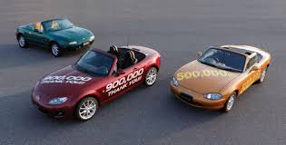 mazda mx series mazda mx 5 roadster review 900 000 vehicles sold later