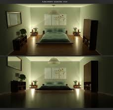 Mood Lighting Bedroom by Interior Bedroom Lighting