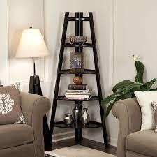 Corner Living Room Cabinet by Best 20 Corner Ladder Shelf Ideas On Pinterest Ladder Shelves