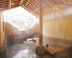 Best Japanese Bath Design Images On Pinterest Hot Springs - Japanese bathroom design