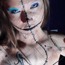 Halloween Doll Makeup Ideas by Makeup Ideas Voodoo Doll Makeup Beautiful Makeup Ideas And