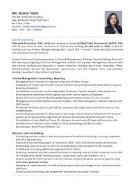 Retail Professional Summary Komal Tolani Group Finance Manager