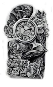 Tattoo Designs Half Sleeve Ideas Clock Tattoo I Want Something Like This With The Time Being On 11
