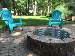 backyard fire pit lowes paver bricks with tractor supply fire