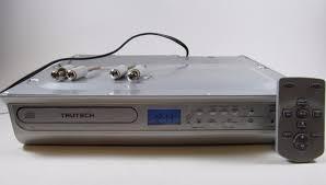 trutech space saving under cabinet kitchen cd radio k003188 remote