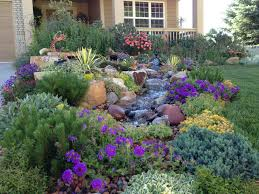 garden rockery ideas florida cottage style landscape google search garden