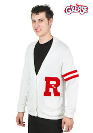 Mens Halloween Costumes Amazon Grease Rydell Men U0027s Letter Sweater Men Halloween Costumes