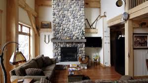 houses warm cosy living room lounge furniture sofa mantle rug