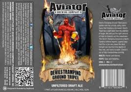 Aviator Brewing's Label For Devil's Tramping Ground by TheBeerSpot