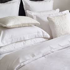 luxury white bed linen vauville bedding by fable at bedeck 1951