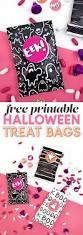 Printable Halloween Bags Diy Printable Treat Bags Make Your Own Goodie Bags Persia Lou