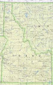 Map Of Colorado And Surrounding States by Idaho Outline Maps And Map Links