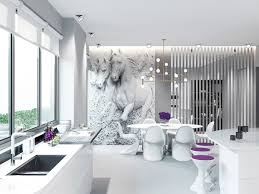 Purple Dining Room 50 Strikingly Modern Dining Rooms That Inspire You To Entertain