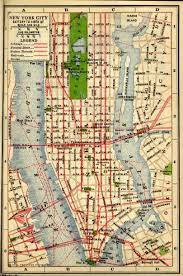 Map New York City by Historical New York City U0026 Manhattan Maps