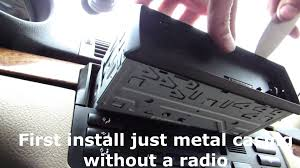 how to remove kenwood stereo from bmw 323 e46 and install
