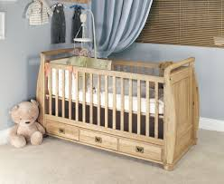 Childrens Oak Bedroom Furniture by Amelie Oak Cot Bed With Three Drawers Amelie Oak Children U0027s