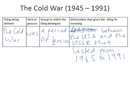 The Cold War Essay