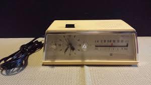 Jcpenney Clocks Vintage Penncrest Jcpenney 7 Transistor Radio Clock Am Model